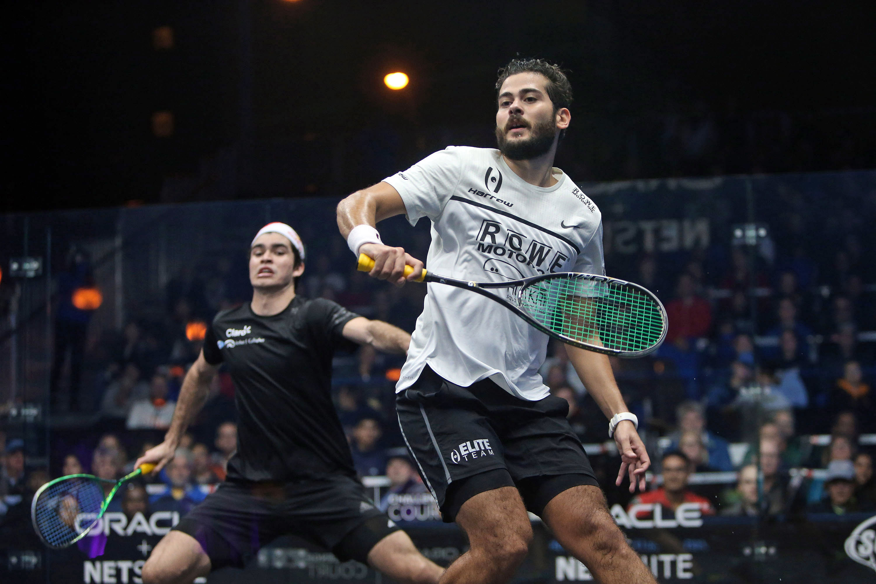 ElShorbagy and Gawad Light up the Embarcadero; David Cruises to First Final