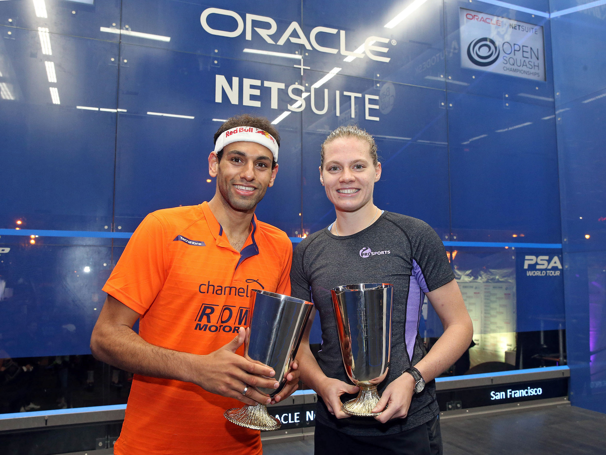 ElShorbagy and Perry Win Maiden Oracle NetSuite Open Titles