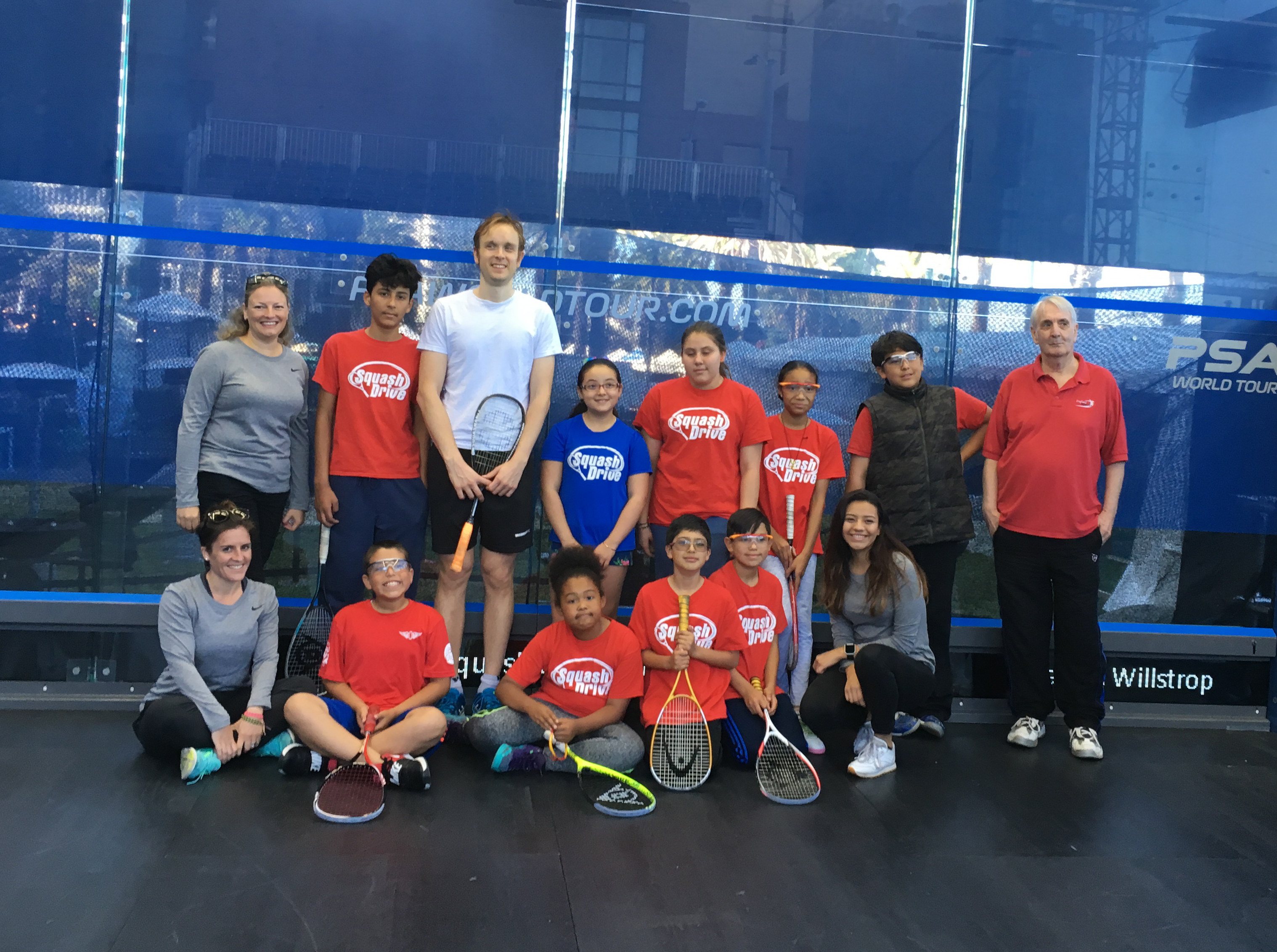 SquashDrive Raises More Than 70k For College Prep Program