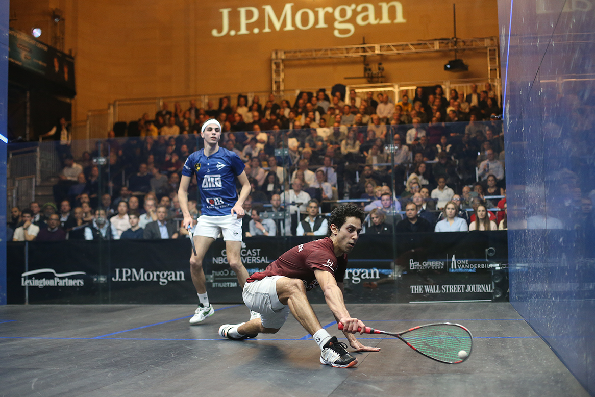 Front Office Sports: Squash Demographics Attracts High Profile Sponsors