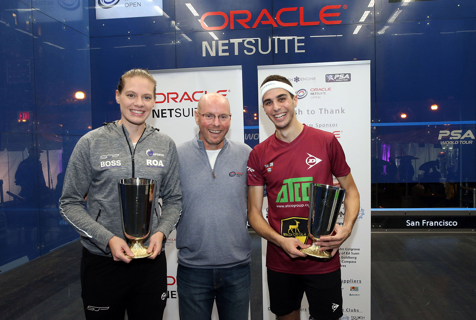 Perry Pulls Off Back-to-Back Oracle NetSuite Open Titles; Farag Dethrones World No. 1 ElShorbagy