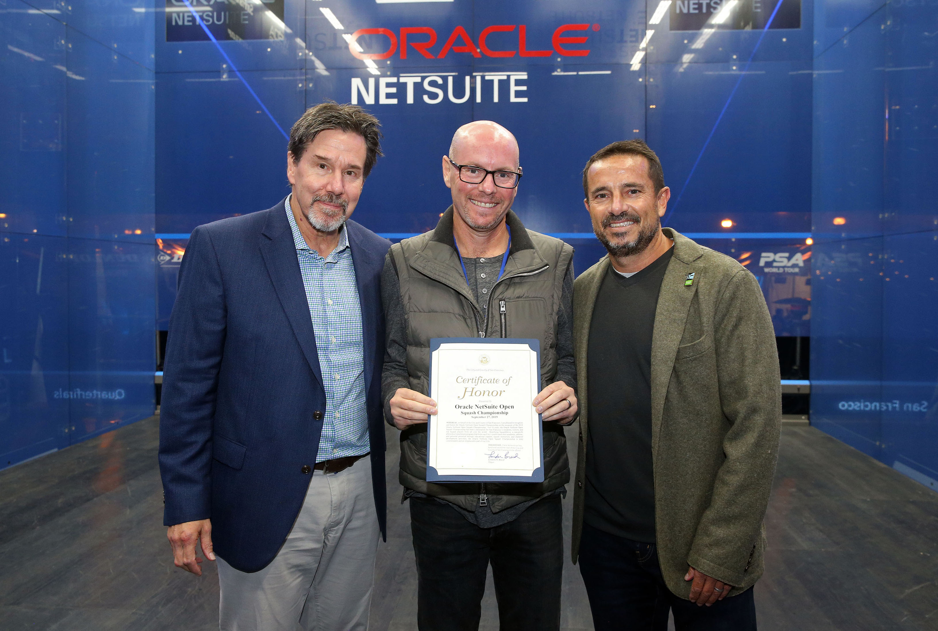City of San Francisco Recognizes Oracle NetSuite Open Diamond Anniversary