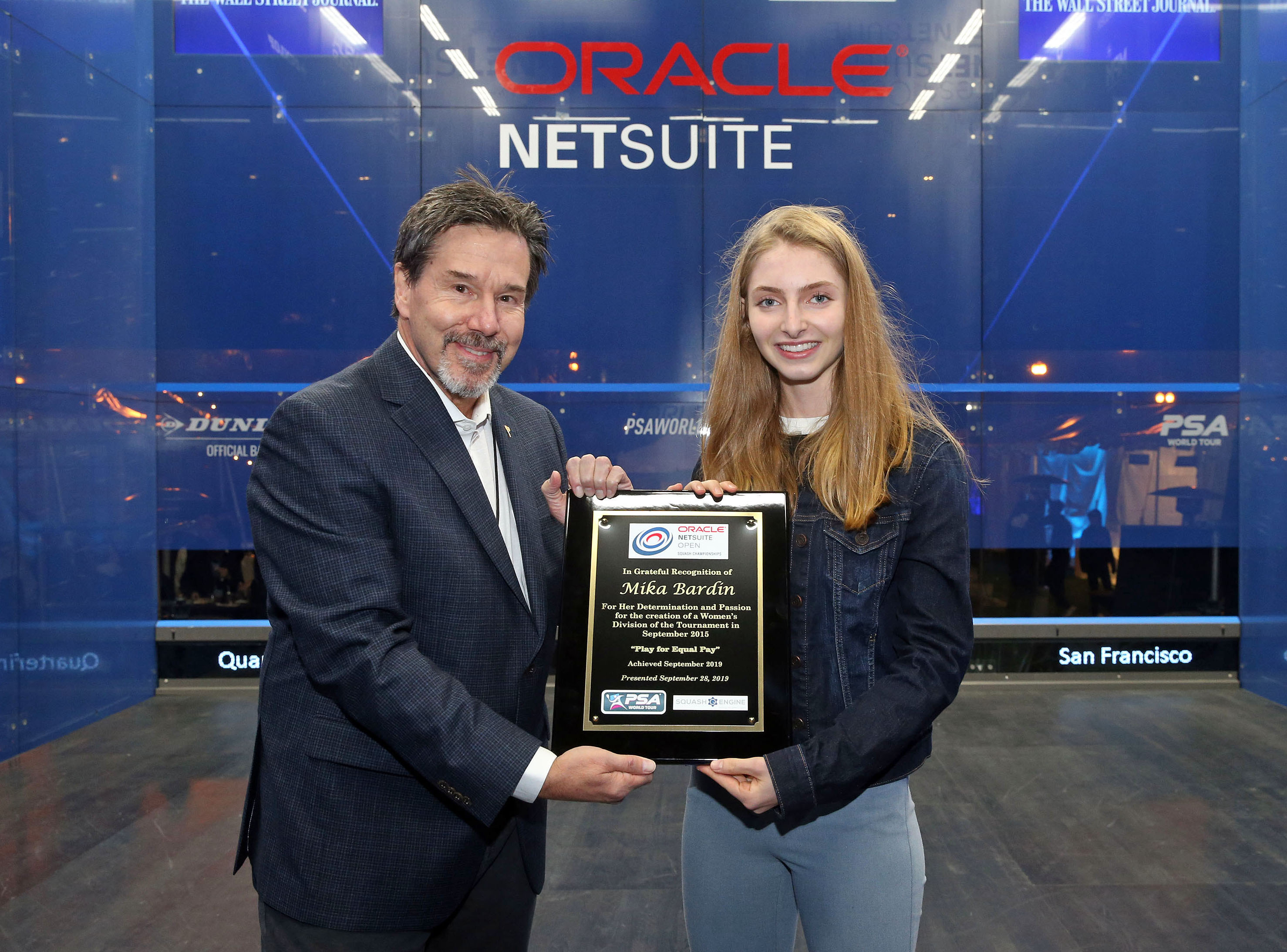 "Bardin Recognized for ""Play for Equal Pay"" as Oracle NetSuite Open Reaches Parity"