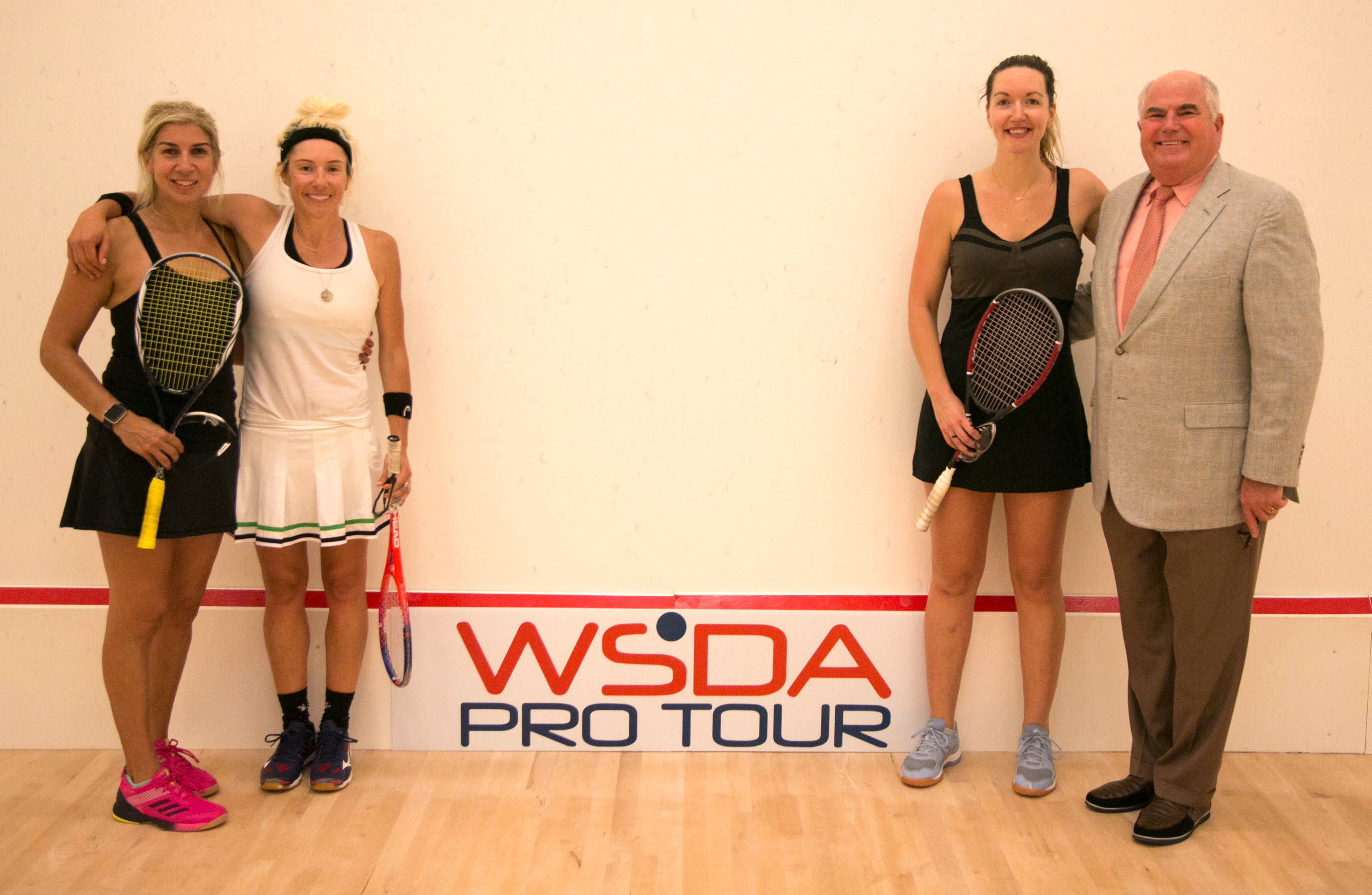 Oracle NetSuite Open Celebrates WSDA Sponsorship With Doubles Exhibition